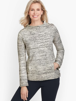 Talbots Diamond Quilted Pullover