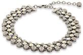 St. John Swarovski Crystal Triple Strand Collar Necklace