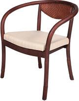 One Kings Lane Deco Side Chair, Walnut
