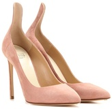 Francesco Russo Suede Pumps
