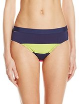 Jag Women's Newport Stripe Retro Bikini Bottom