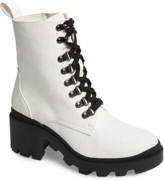 BP Taylor Block Heel Combat Boot