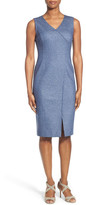 Classiques Entier &Violetta& Interlock Faux Wrap Dress