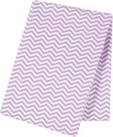 TREND LAB, LLC Trend Lab Lilac Chevron Flannel Swaddle Blanket