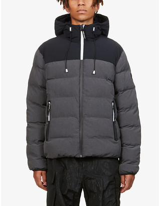 Ea7 Armani Quilted shell-down jacket