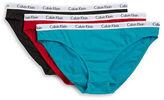 Calvin Klein 3-Pack Carousel Bikini