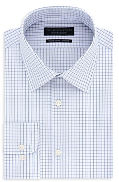 The Men's Store at Bloomingdale's Tattersall-Check Slim Fit Dress Shirt - 100% Exclusive
