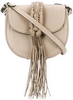 Altuzarra fringed crossbody bag - women - Leather - One Size