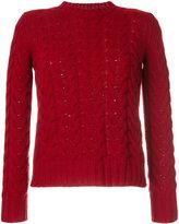 Max Mara cable-knit jumper