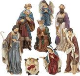 Kurt Adler 9 Resin Nativity Set of 8 Pieces