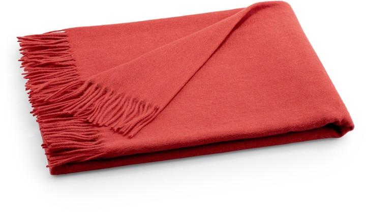 C. Wonder Wool Tassel Throw Blanket