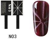 Qimisi Magnet Slice Rods Stick For Magic Magnetic Gel Nail Art Tool N03