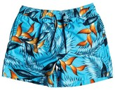 Quiksilver Floral Print Swim Shorts, 8 -16 Years