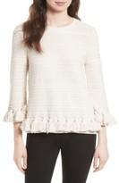 Kate Spade Women's Textured Tassel Pullover