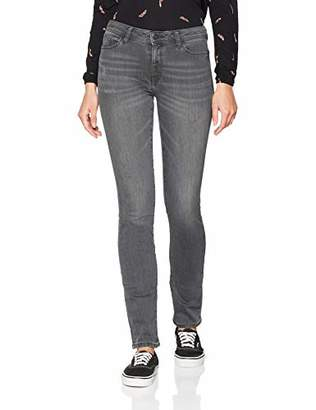 Esprit Women's 108ee1b033 Straight Jeans, (Grey Medium Wash 922), W25/L32 (Size: 25/32)