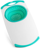 Martha Stewart Collection Over-The-Sink Cutting Board with Colander