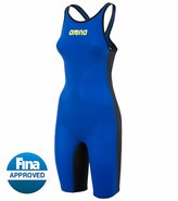 Arena Powerskin Carbon Air Full Body Short Leg Open Back Tech Suit Swimsuit 8127911