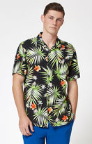 Vans Palm Decay Short Sleeve Button Up Camp Shirt
