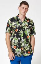 Vans Palm Decay Short Sleeve Button Up Camp Shirt