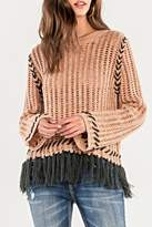 Miss Me Fringe Knit Sweater