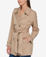 Tommy Hilfiger Trench Coat, Only at Macy's