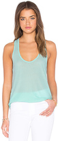 James Perse High Hauge Jersey Tank