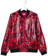 Kenzo jungle patterned bomber jacket