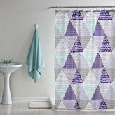 Dormify Patchwork Prism Shower Curtain