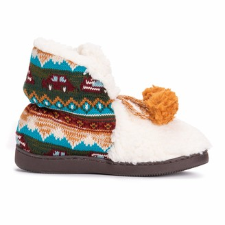 Muk Luks Women's Jackie Slipper Booties