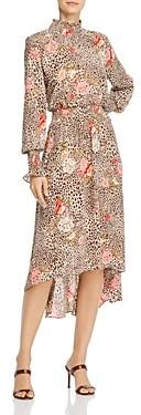 Nanette Lepore nanette Smocked Midi Dress