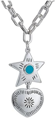 Vanessa Mooney The Lonestar Necklace (Silver Plated) Necklace