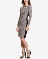 Lauren Ralph Lauren Two-Toned Sheath Dress