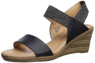 XOXO Women's Switzerland Espadrille Wedge Sandal