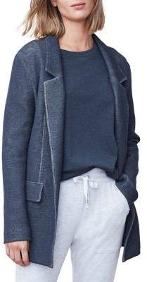 B. New York Notched Open-Front Jacket