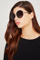 BCBGeneration Yoko Round Sunglasses - Black