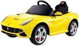 Ferrari F-12 Ride-On in Yellow