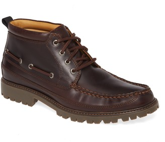 Sperry Gold Authentic Original Moc Toe Boot