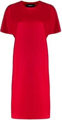 DSQUARED2 wool T-shirt dress