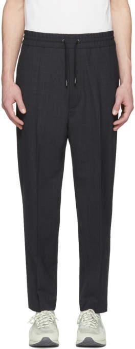 Diesel Black Gold Grey Drawstring Trousers