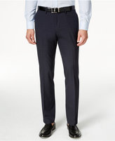 Kenneth Cole Reaction Men's Slim-Fit Windowpane Dress Pants