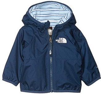 The North Face Kids Rev Breezeway Wind Jacket (Infant) (Blue Wing Teal) Kid's Clothing