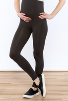 Luxe Junkie Dark Grey Maternity Legging