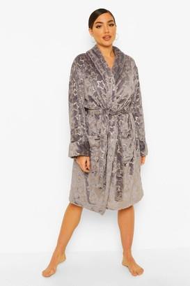 boohoo Star Print Dressing Gown