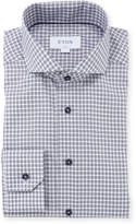 Eton Men's Gingham Check Dress Shirt