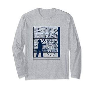 Modular Synthesizer Long Sleeve T-Shirt