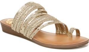 Fergalicious Tatum Toe Thong Wedge Sandals Women's Shoes