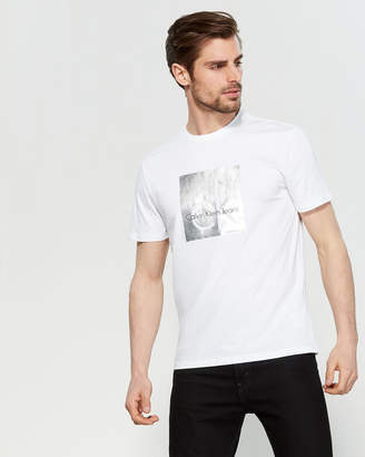 Calvin Klein Jeans Foil Heritage Logo Tee