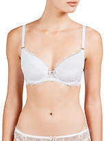 COLLECTION by John Lewis Genevieve Lace Plunge Bra, White