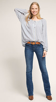 Esprit OUTLET dot and stripe pattern blouse