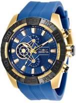 Invicta Men's Pro Diver Silicone Band Steel Case Quartz Watch 25996